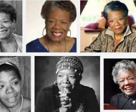 Maya Angelou - let's celebrate interconnectness